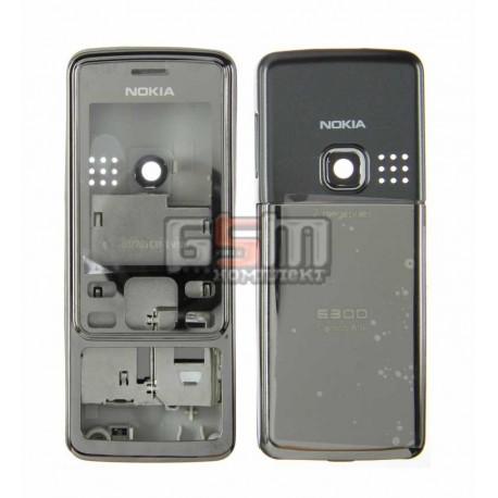 Корпус для Nokia 6300, серый, копия ААА
