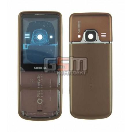 Корпус для Nokia 6700c, копия AAA, коричневый