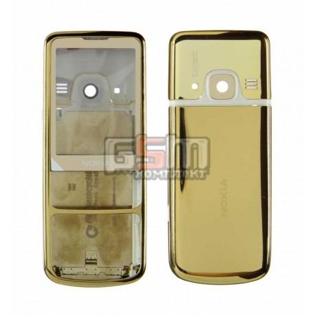 Корпус для Nokia 6700c, золотистый, high-copy