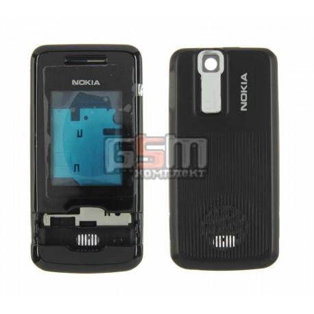 Корпус для Nokia 7100sn, копия AAA, черный