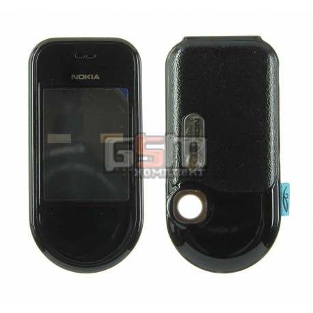 Корпус для Nokia 7370, копия AAA, черный