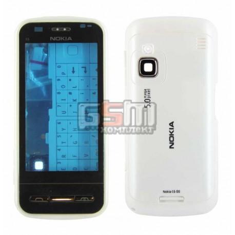Корпус для Nokia C6-00, белый, high-copy