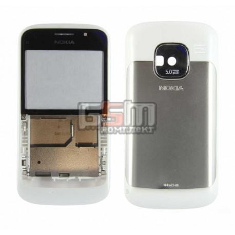 Корпус для Nokia E5-00, копия AAA, белый