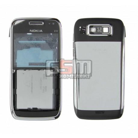 Корпус для Nokia E72, копия AAA, черный