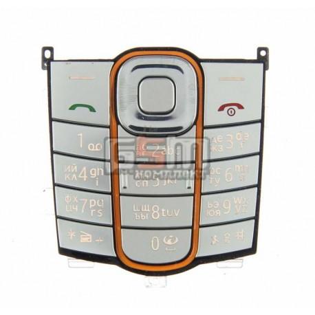 Клавиатура для Nokia 2600c, серебристый, русская