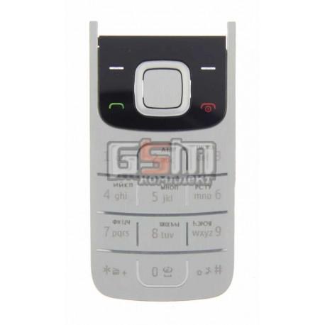Клавиатура для Nokia 2720f, черная, русская
