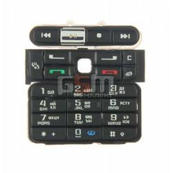 Клавиатура для Nokia 3250, черный, русская