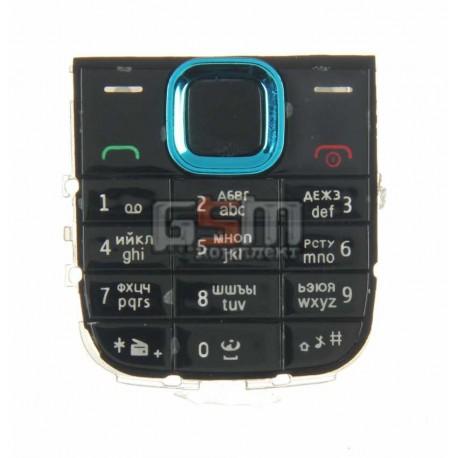 Клавиатура для Nokia 5130, синий, русская