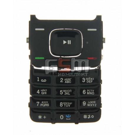 Клавиатура для Nokia 5610, оригинал, черный, русская, нижняя
