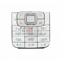 Клавиатура для Nokia 6120c, белый, русская