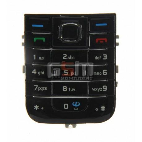 Клавиатура для Nokia 6233, черная, английская