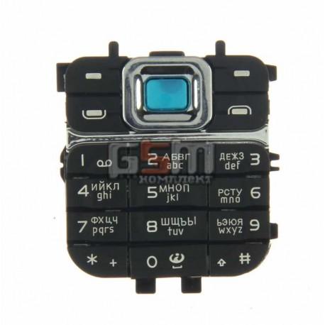 Клавиатура для Nokia 7360, черный, русская