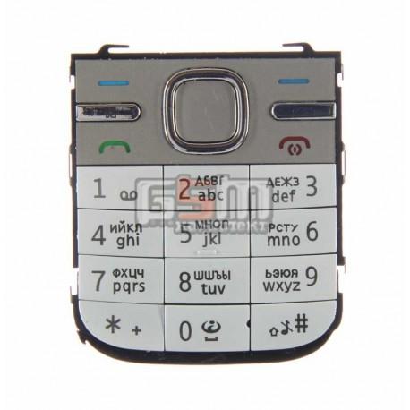 Клавиатура для Nokia C5-00, белый, русская