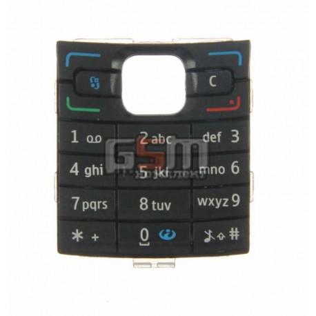 Клавиатура для Nokia E50, черная, русская