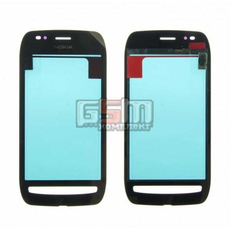 Тачскрин для Nokia 710 Lumia, черный, copy