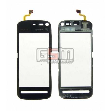 Тачскрин для Nokia 5800, черный, copy