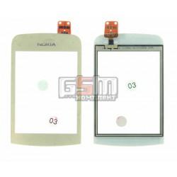 Тачскрин для Nokia C2-02, C2-03, C2-06, C2-07, C2-08, золотистый
