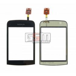 Тачскрин для Nokia C2-02, C2-03, C2-06, C2-07, C2-08, черный