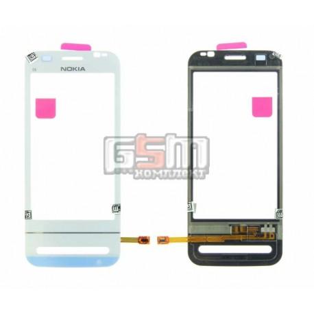 Тачскрин для Nokia C6-00, белый