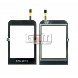 Тачскрин для Samsung C3300, черный