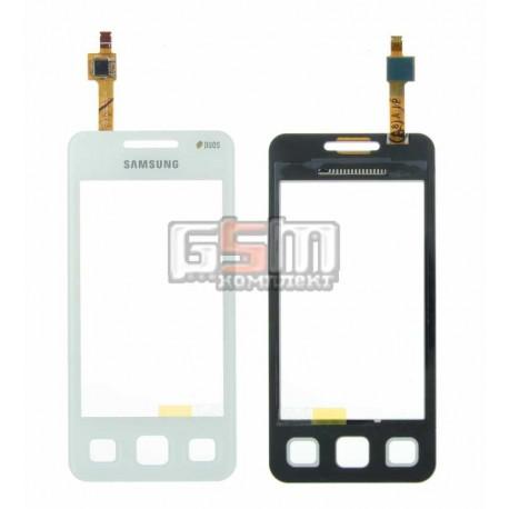 Тачскрин для Samsung C6712, белый