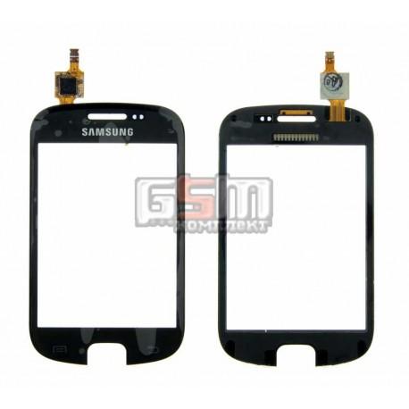 Тачскрин для Samsung S5670 Galaxy Fit, черный