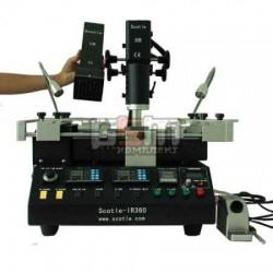 Инфракрасный паяльный комплекс SCOTLE IR360 PRO V3 (ИК пушка, термовоздушная пушка, нижний подогрев и регулируемый паяльник)