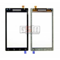 Тачскрин для Motorola A853 Qrty, A855 Droid, XT702 Milestone, черный