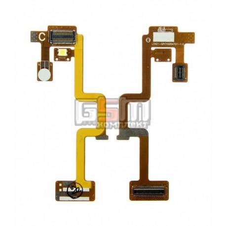 Шлейф для LG C3320, L342i, межплатный, с компонентами