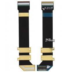 Шлейф для Samsung J700, межплатный, с компонентами