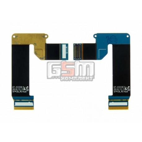 Шлейф для Samsung E2330, межплатный, с компонентами
