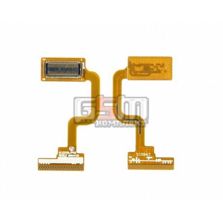 Шлейф для Samsung E2210, копия, межплатный, с компонентами