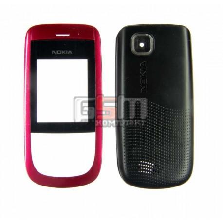 Корпус для Nokia 2220s, розовый, high-copy