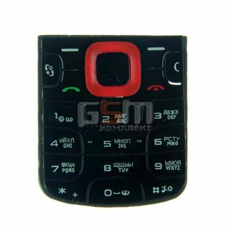 Клавиатура для Nokia 5320, красная, русская
