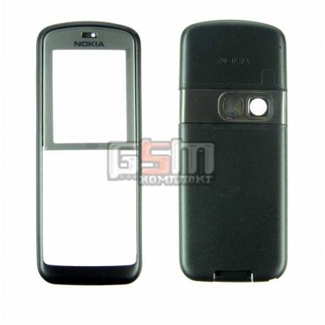 Корпус для Nokia 6070, графитовый, копия ААА