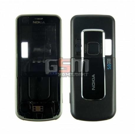 Корпус для Nokia 6220, копия AAA, черный