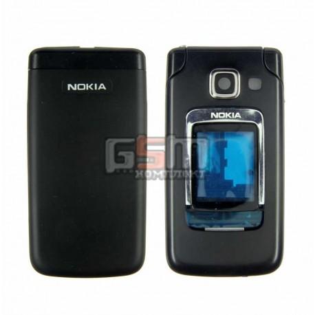Корпус для Nokia 6290, черный, копия ААА