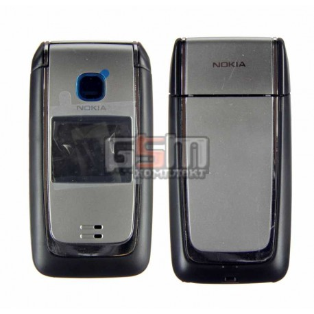 Корпус для Nokia 6125, черный, копия ААА