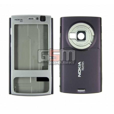 Корпус для Nokia N95 2Gb, фиолетовый, копия ААА