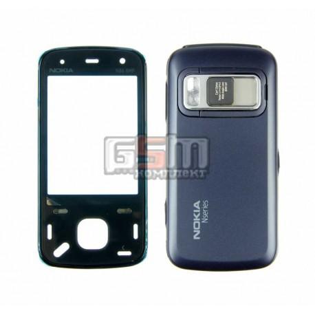 Корпус для Nokia N86, синий, копия ААА