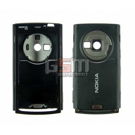 Корпус для Nokia N95 2Gb, черный, копия ААА