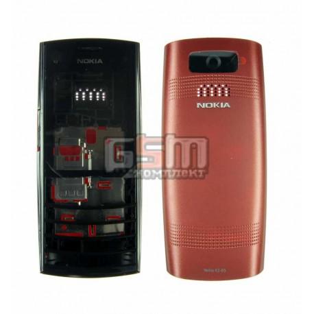 Корпус для Nokia X2-05, красный, high-copy
