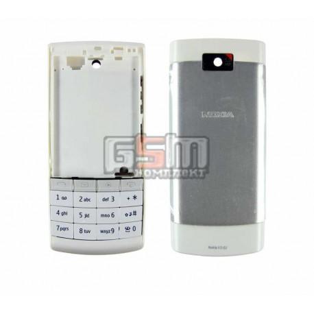 Корпус для Nokia X3-02, белый, копия ААА