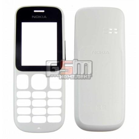 Корпус для Nokia 101, белый, копия ААА