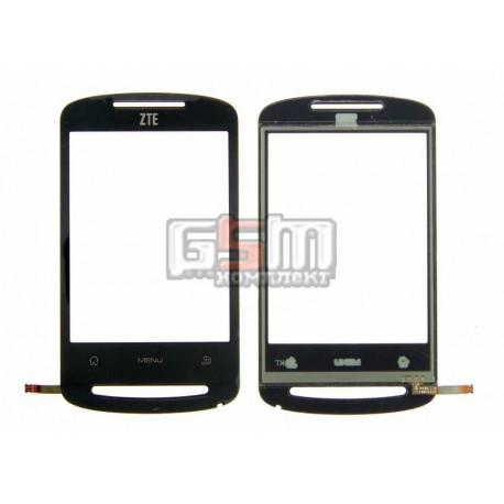 Тачскрин для телефона MTC 916, ZTE N600, X850, ZTE Racer, черный, (QT051892177)