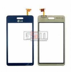 Тачскрин для LG GD510, синий