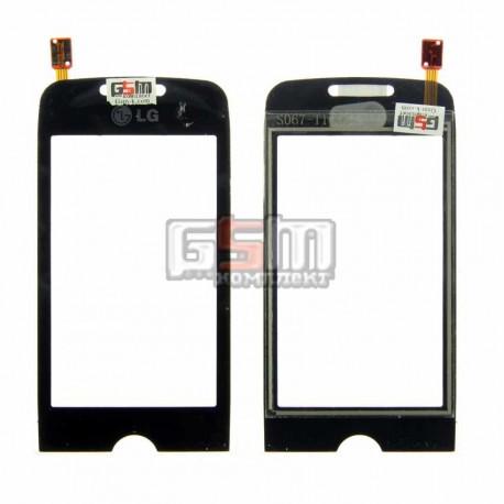 Тачскрин для LG GS290, черный, copy