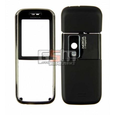 Корпус для Nokia 6233, черный, копия ААА