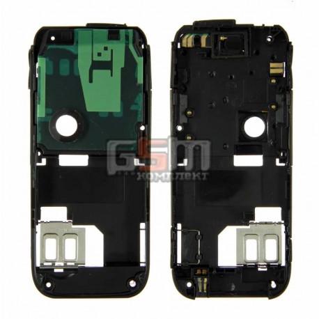 Средняя часть корпуса для Nokia 6233, черный, полный комплект