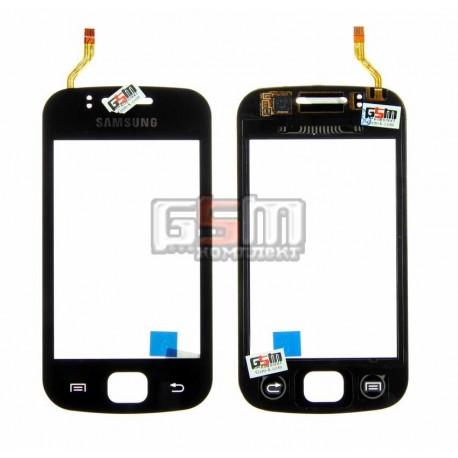 Тачскрин для Samsung S5660, черный